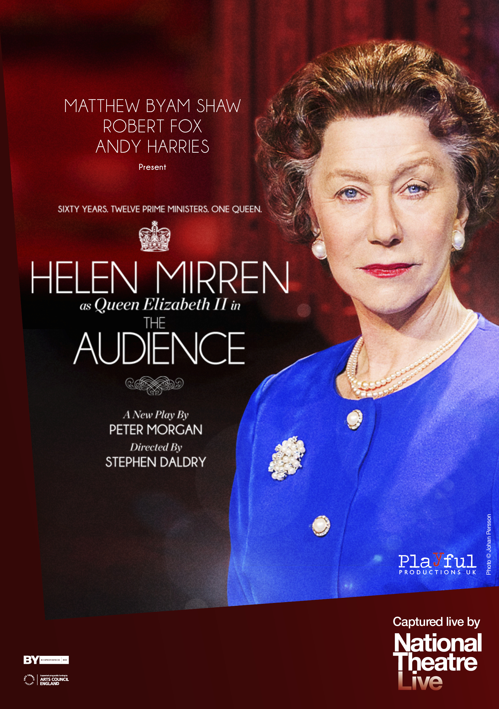 National Theatre Live Encore screening of The Audience Starring Helen Mirren